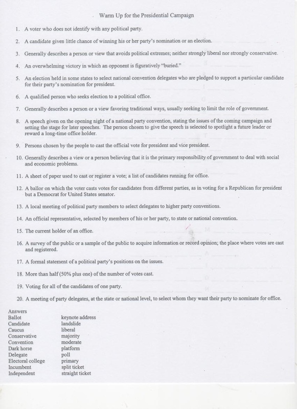 Government Queen Maneys Class – Propaganda Techniques Worksheet